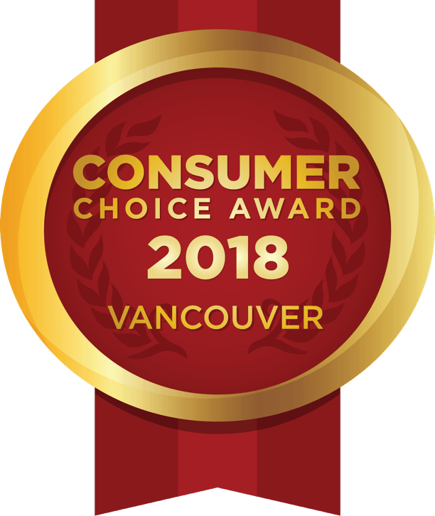 2018 Vancouver Consumer Choice Award Winner