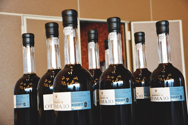 wine bottles at 2018 vancouver wine festival