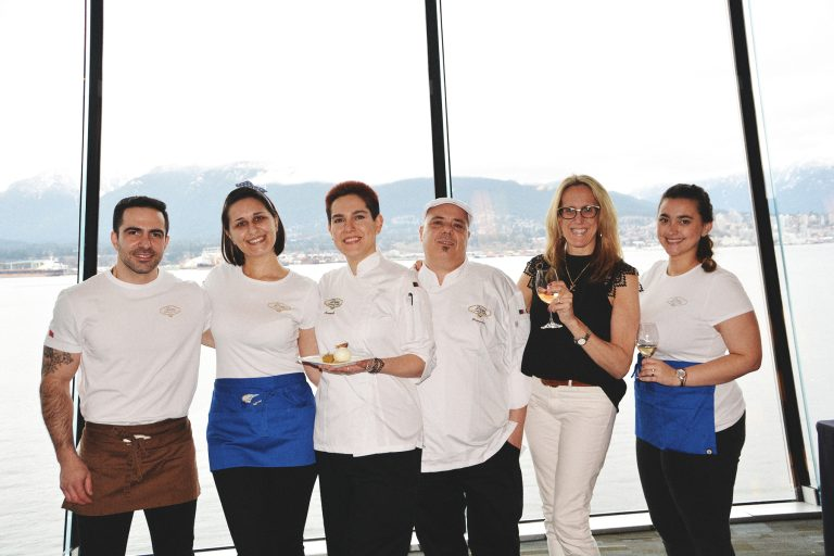 d'oro team at 2020 vancouver wine fest
